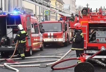 آتش سوزی در هتلی در مسکو 3 کشته داد