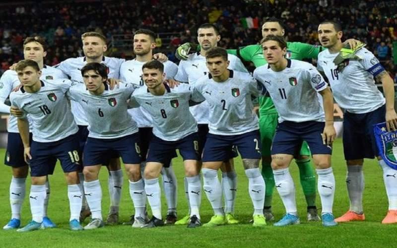 بازیکنان تیم ملی فوتبال ایتالیا واکسن کرونا زدند