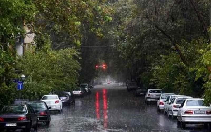 کدام استانها امروز بارانی است؟