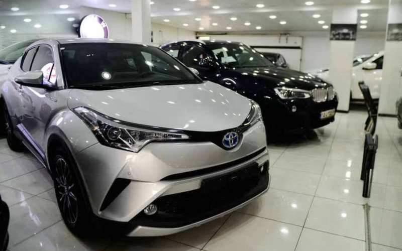 خودروهای بالای یک میلیارد تومان در بازار