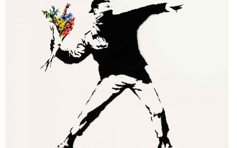 خرید اثر بنکسی با ارز دیجیتال