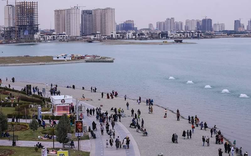 ازگود رهاشده دریاچه شهدای خلیج فارس چه خبر