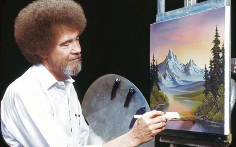نقاشی های «باب راس» کجاست؟