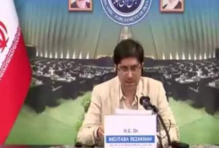 انگلیسی حرف زدن نماینده تهران سوژه شد