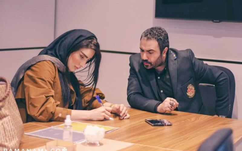 «شهربانو دامغانینژاد» در مقابل دوربین راما نامی