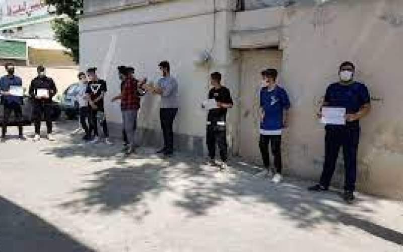 ماجرای برخورد گازانبری با دانشآموزان!