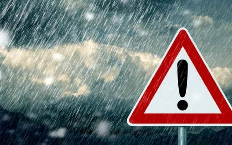 بارش باران و وزش باد شدید در ۲۸ استان