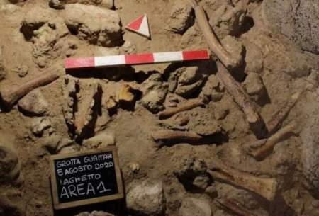 کشف بقایای نئاندرتالها در غاری در ایتالیا
