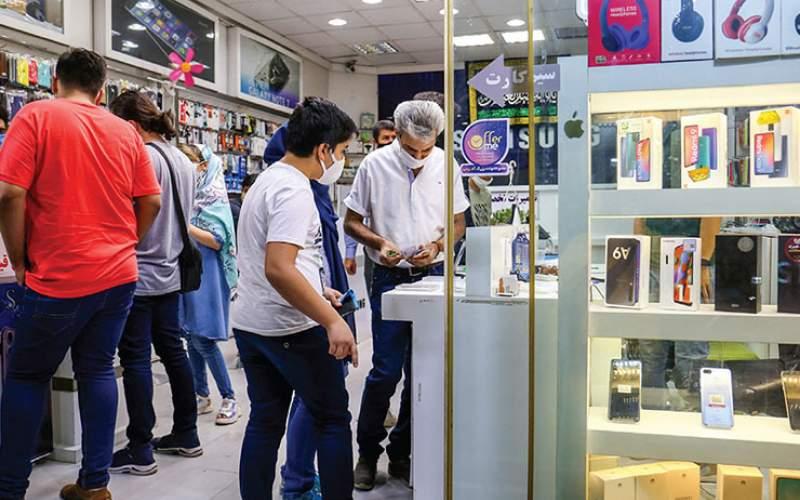 کاهش ۱۰ تا ۱۵درصدی قیمتها در بازار موبایل