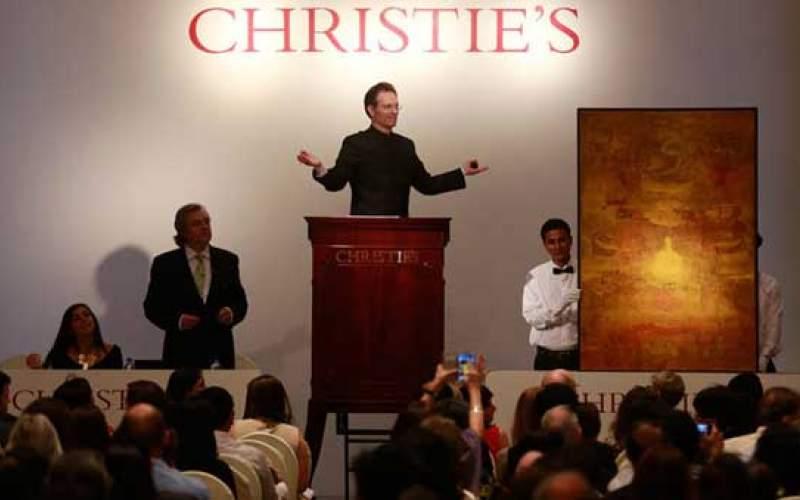 یک میلیارد دلار اثری هنری چوب حراج می خورد