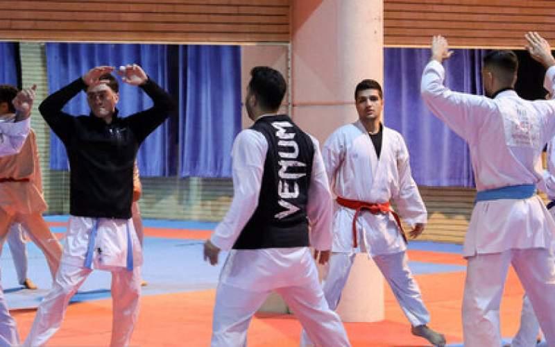 دوازدهمین اردوی تیم ملی کاراته آغاز شد
