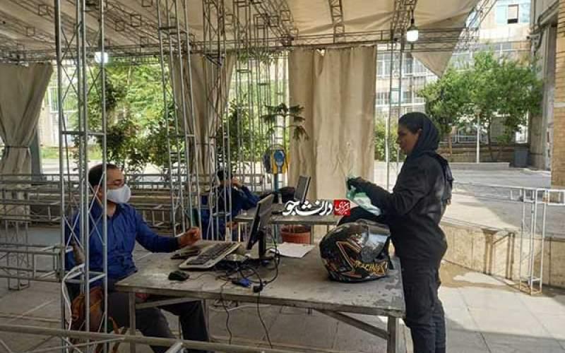 کاندیدای زن موتورسوار: آمدهام خدمت کنم