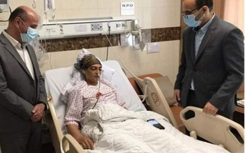 شهربانو منصوریان وآخرین خبراز عمل جراحی روده