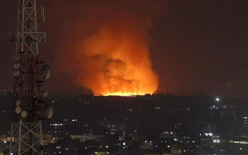 حمله راكتی فلسطینیها به اسرائیل
