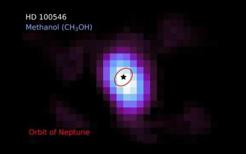 کشف متانول در قرص سیارهای برای اولین بار