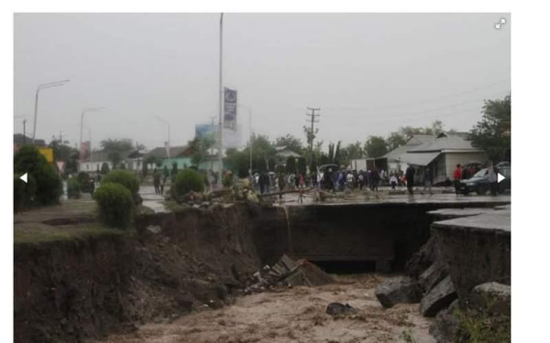 سیل در تاجیکستان قربانی گرفت