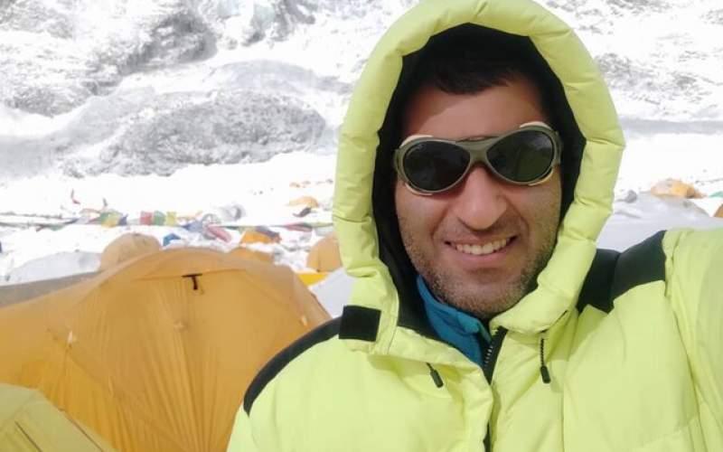 کوهنورد ایرانی فاتح اورست شد