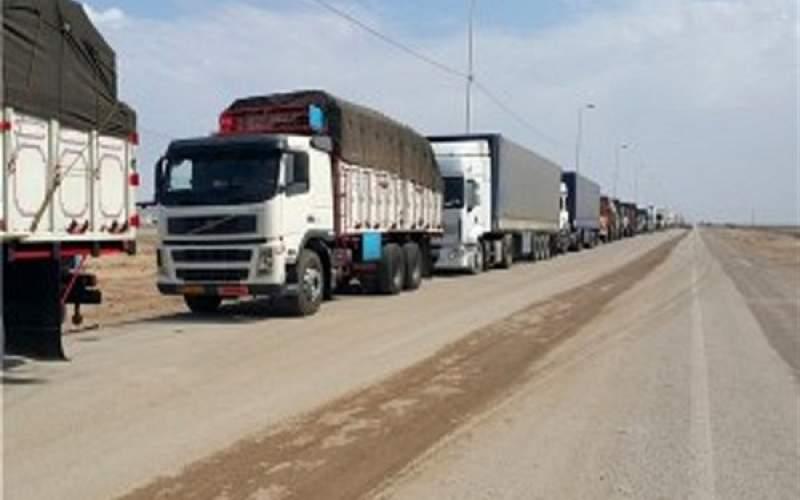 ترافیک سنگین در مسیر ترانزیت دوغارون و میلک