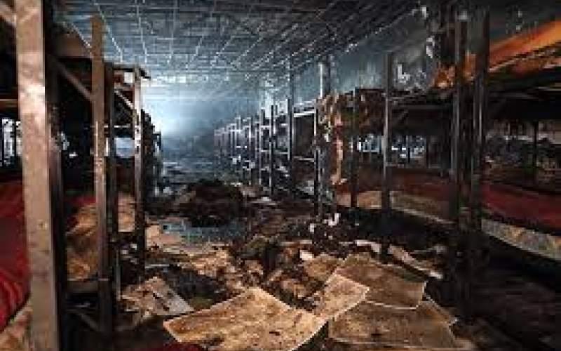 حریق مرکز ترک اعتیاد در مشهد عمدی است