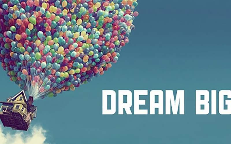 آرزوهای بزرگ و فرار کردن از تمام محدودیتها