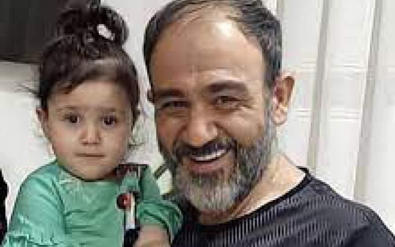 سلفی همسر مهران غفوریان و دخترش