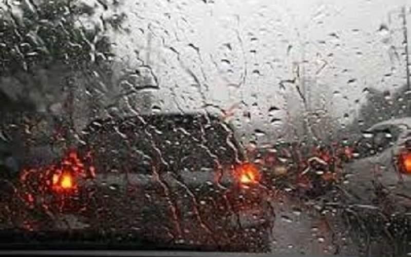 تداوم رگبار باران در ۱۲ استان کشور