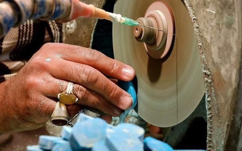 کاهش ۸۰ درصدی مشتریان سنگهای قیمتی