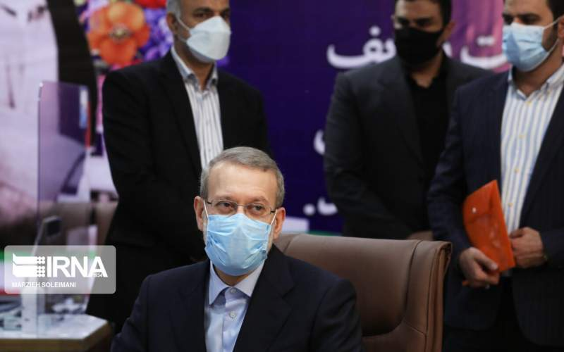 خشم  از کاندیداتوری علی لاریجانی