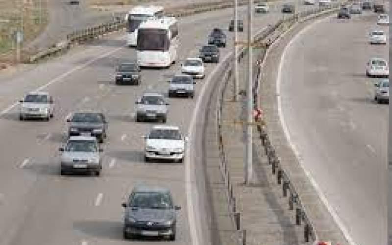 کاهش ۲۲ درصدی تردد در جادهها