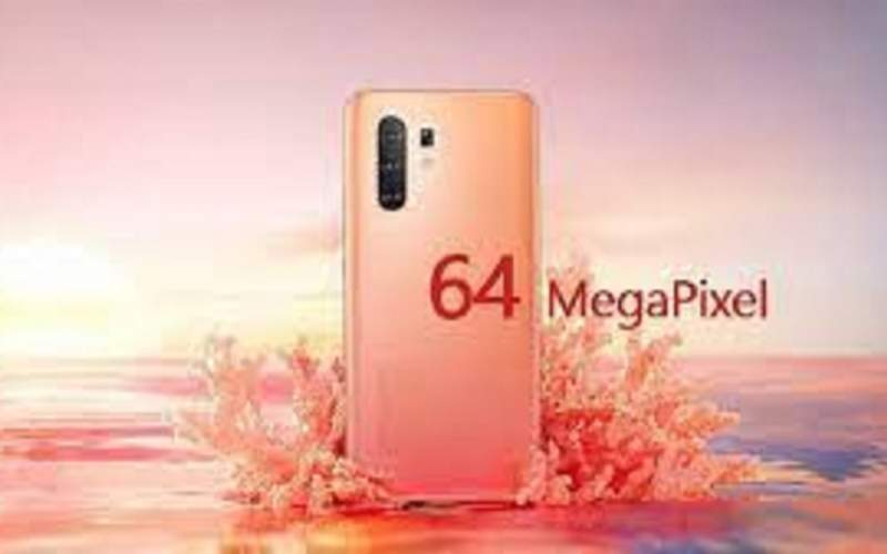 قیمت انواع گوشی موبایل با دوربین ۶۴مگاپیکسل