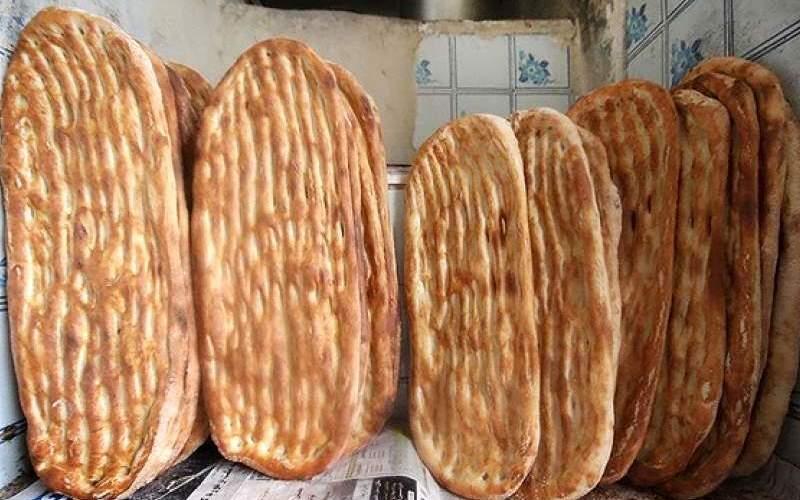 قیمت نان ۵۰ درصد گران شد