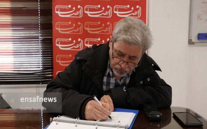 محمد آقازاده از «خبرنگاران هزارتومانی» میگوید