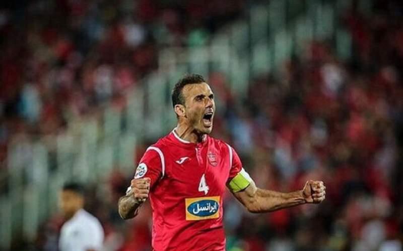 رکورد جدید سیدجلال حسینی در لیگ برتر