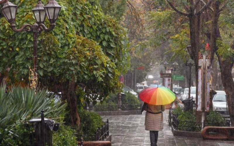 رگبار پراکنده باران در ارتفاعات استان تهران