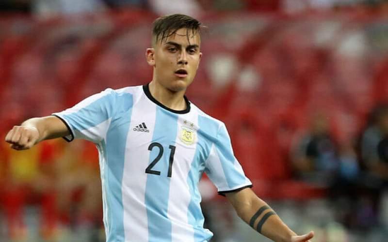 دیبالا از تیم ملی آرژانتین خط خورد