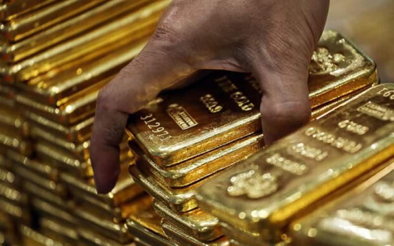 قیمت طلا با افت ارزش دلار، رشد کرد