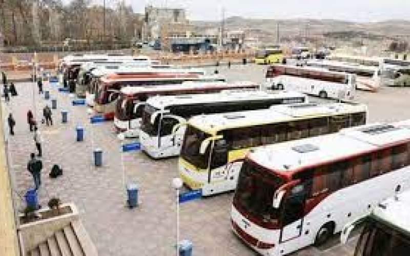 افزایش نرخ بلیت اتوبوس برونشهری تصویب شد