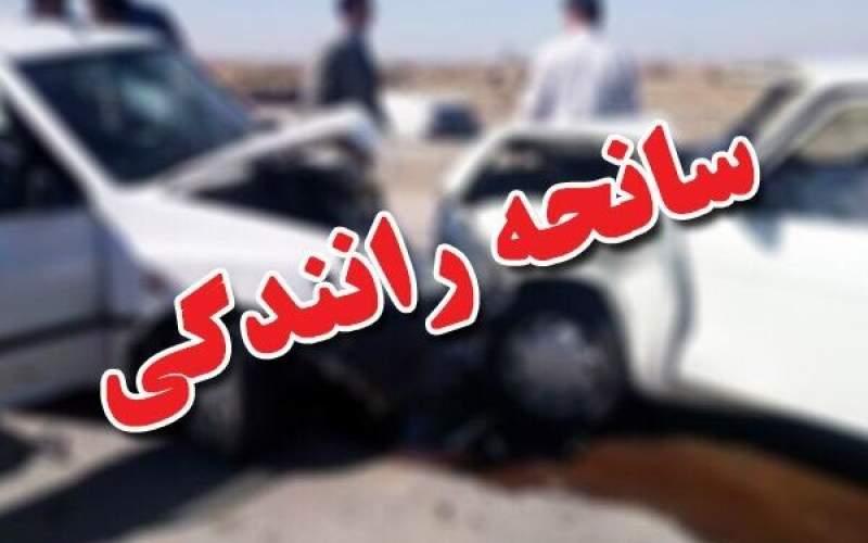 تصادف زنجیرهای در تبریز؛ ۲ نفر جان باختند
