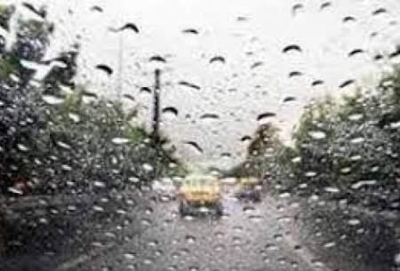 رگبار پراکنده باران در کشور