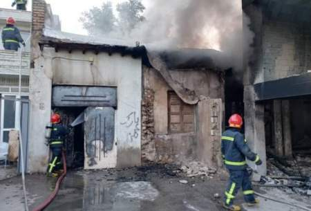 جزئیات یک حادثه آتشسوزی در شیراز