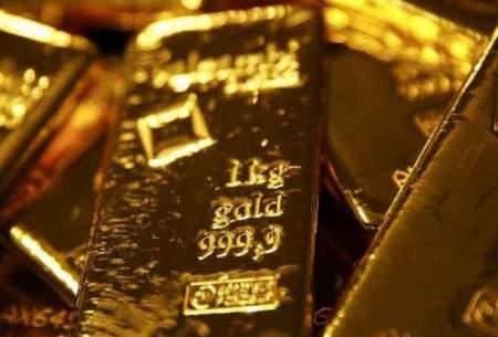 قیمت جهانی طلا افت کرد؛هر اونس ۱۸۷۶دلار