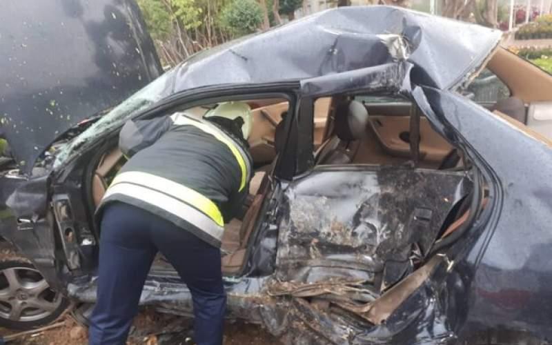 تصادف مرگبار در اهواز؛بازگشایی کنارگذر اصفهان