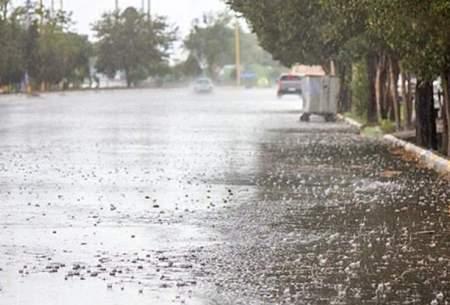 تداوم رگبار باران در ۲۳ استان کشور