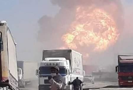 آتش سوزی مرز ایران و افغانستان مهار شد