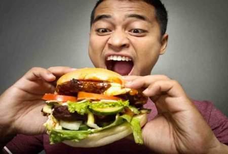 چگونه به راحتی کمترغذا بخوریم تا لاغر شویم