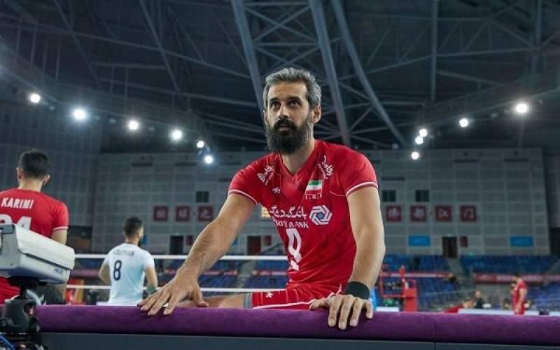 تغییر اضطراری در لیست تیم ملی والیبال ایران