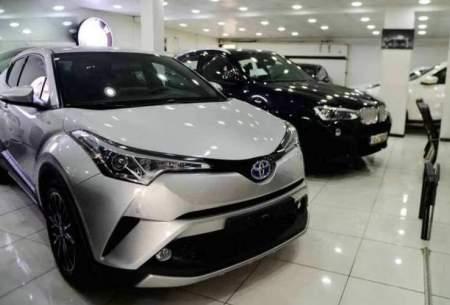 کاهش ۱۰ درصدی قیمت خودروهای خارجی
