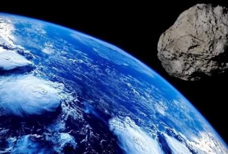 سیارکی در حال نزدیک شدن به زمین