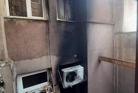 نجات ۱۵مسافر هتل ازمیان دود وشعلههای آتش