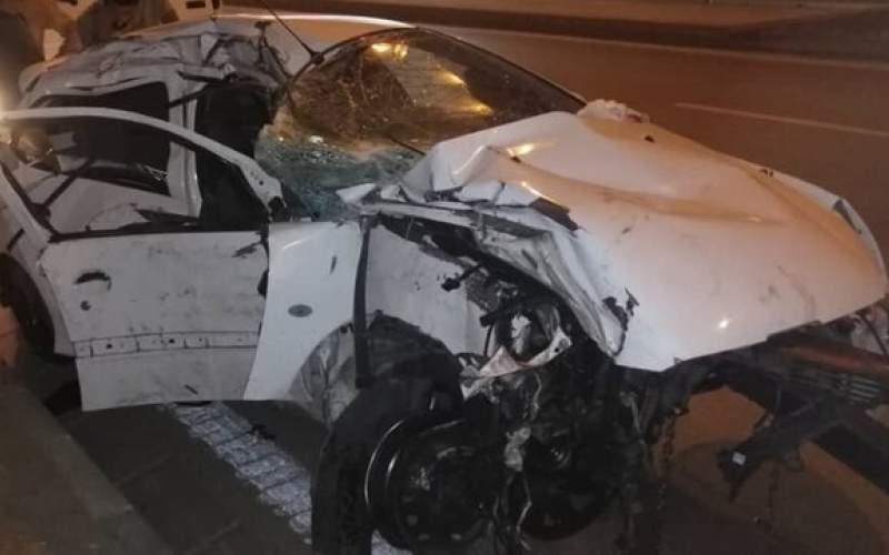 مرگ مادر و کودک ۶ساله بر اثر تصادف